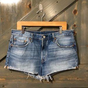 Levis 501 Jeans Shorts Size 32